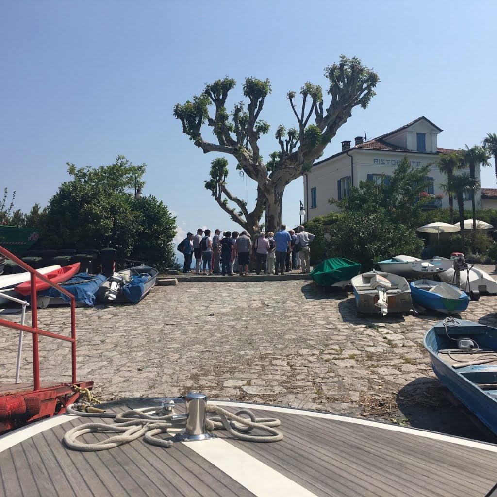 Sbarco Isola dei Pescatori