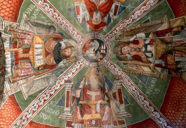 Affresco Chiesa Isola di Sangiulio