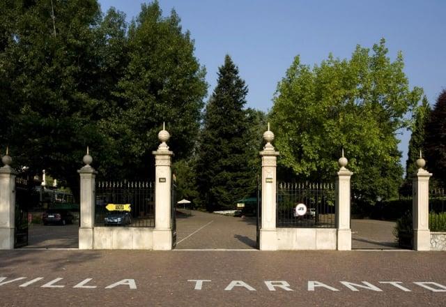 Entrata Villa Taranto