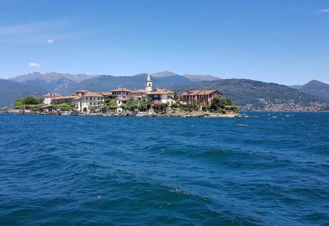 Isola Pescatori dal Battello