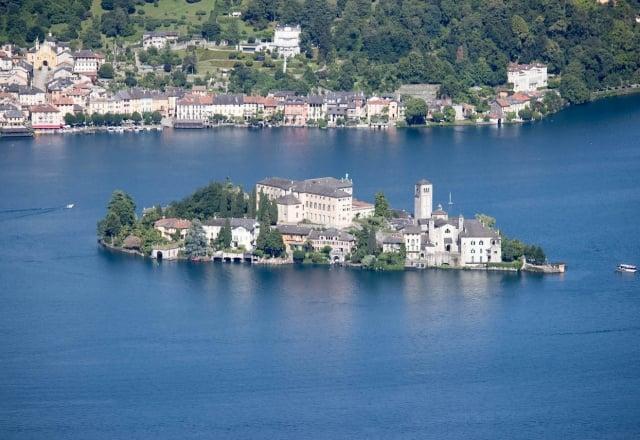 Isola di San Giulio da Hotel Panoramico